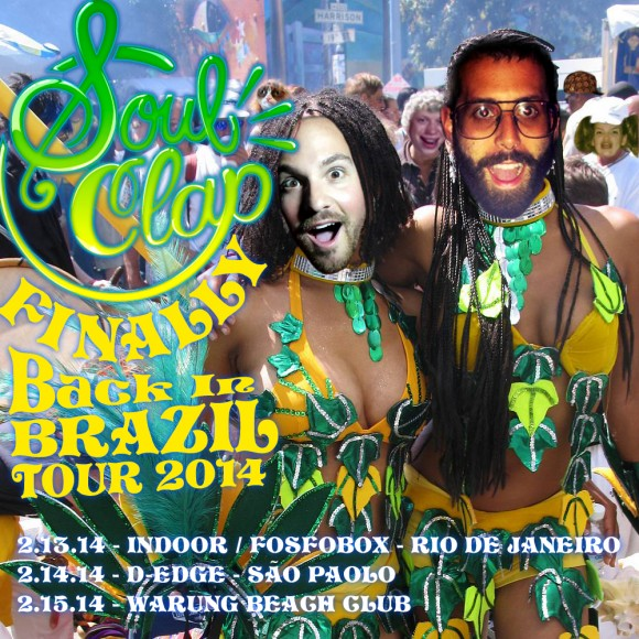 Brazil Tour 2014 Flyer