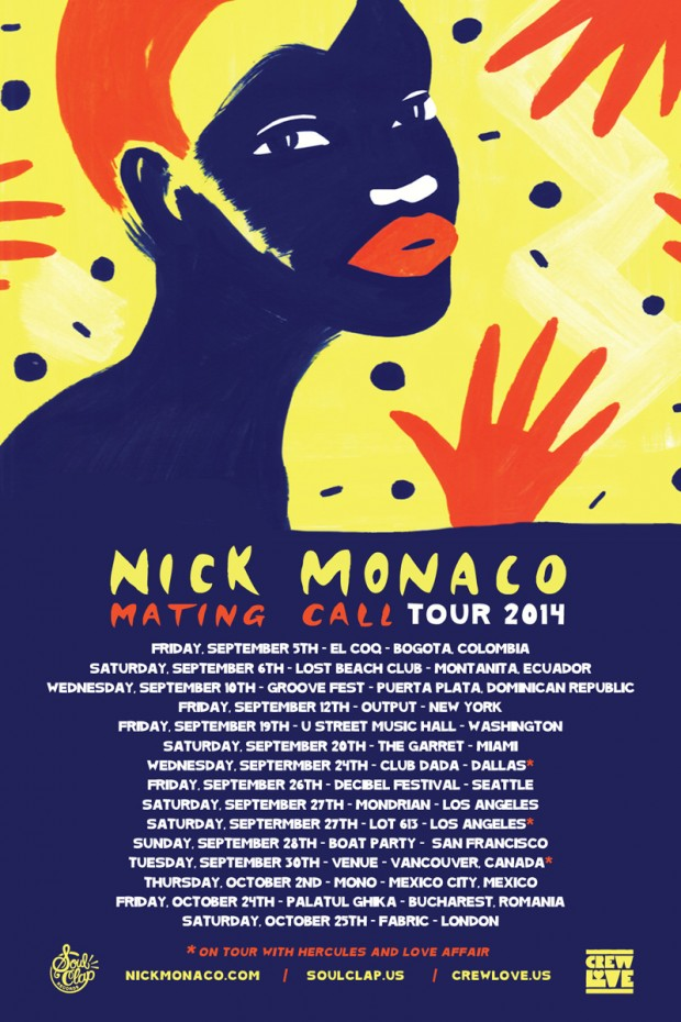 Nick Monaco: Coming to a Dancefloor Near You!