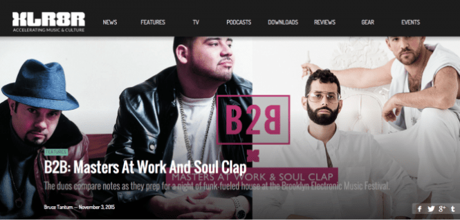 XLR8R Reciprocal Soul Clap - Masters at Work Interviews