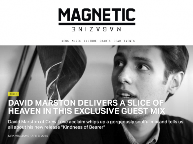 David Marston Magnetic Magazine Interview