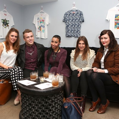 Lacoste L!ve Tee Party Introducing The Artist Series Collaboration Project