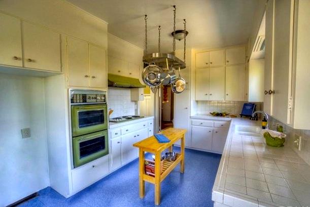 Vintage built-in kitchen