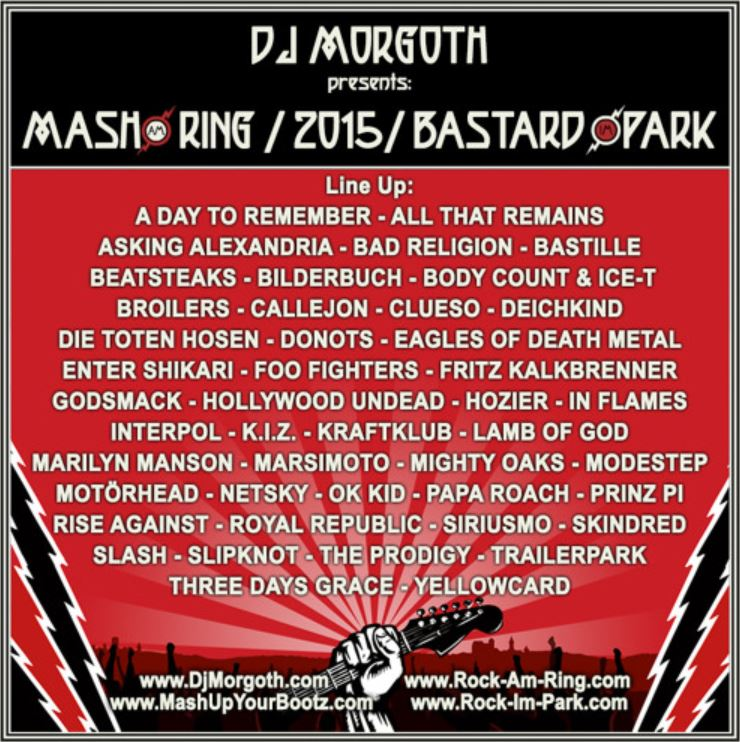 Mash am Ring - Bastard im Park - 2015 Mixtape