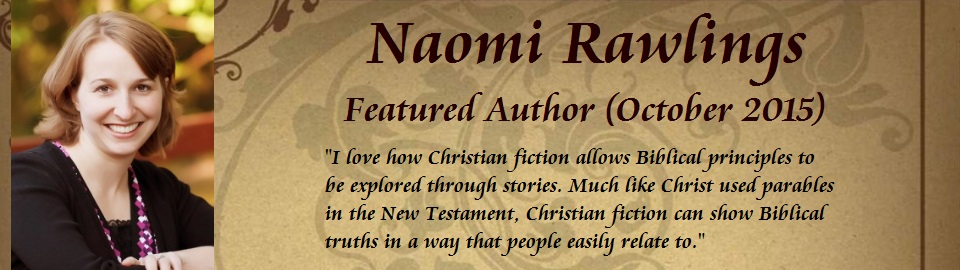 Featured Author: Naomi Rawlings