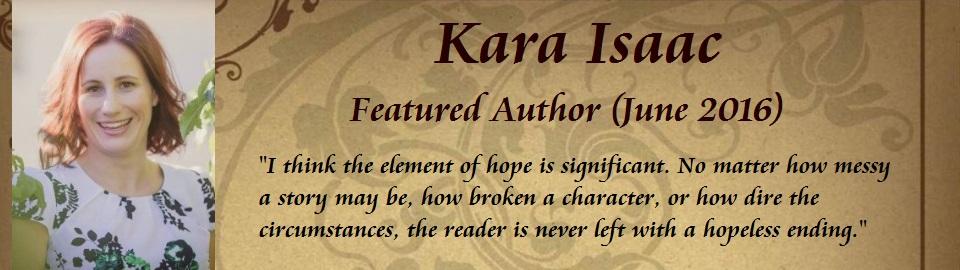 Featured Author: Kara Isaac