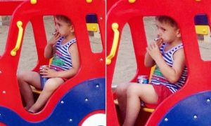 PAY-MAIN-Five-year-old-boy-smoking-and-drinking-in-playground