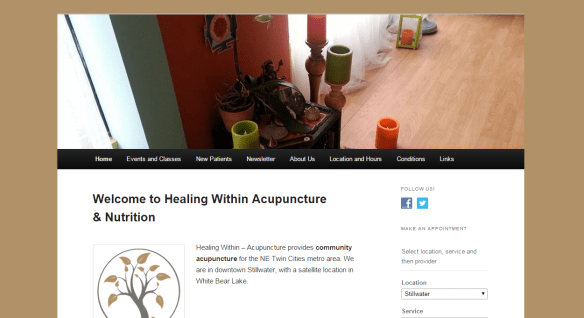 Healing Within Acupuncture & Nutrition | White Beark Lake & Stillwater, MN