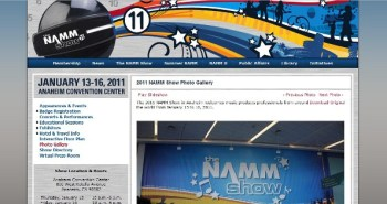 Exclusive Winter NAMM 2011 Coverage