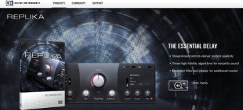 Demo: Native Instruments REPLIKA Delay Effect Plugin Free Download