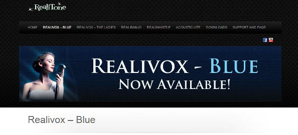 Review: Realitone Realivox Blue Solo Female Vocal Library