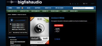 Big Fish Friday: Ambient White Kontakt library review