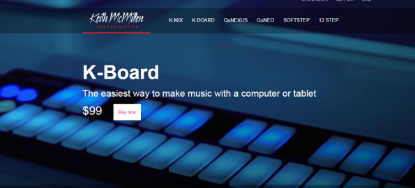 Review: K-Board USB MIDI Keyboard from Keith McMillen