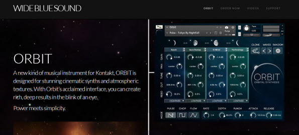 Review: Wide Blue Sound ORBIT Cinematic Synth and Atmospheric Texture Instrument