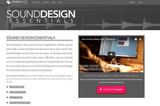 Review: ThinkSpace Education – Sound Design Essentials Course