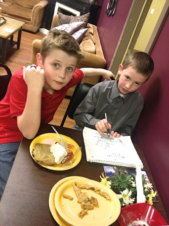 Dinner for Six Feb 2014 | Source Bible Class | 21