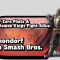 Ganondorf in Smash Bros