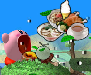 The amount food items heal is based on how filling or nutritious they are! Is that...ramen? Wait. Is that a cup of tea??