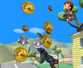 If you can collect 200 coins within the time limit, you win!