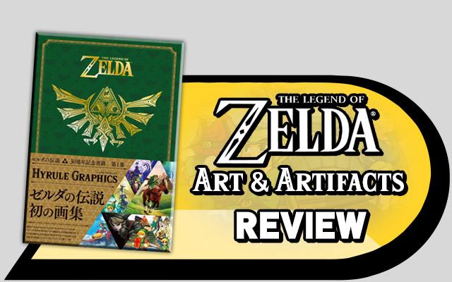 Zelda Art Artifacts