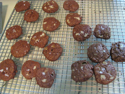 Recipe: Chocolate Toffee Cookies