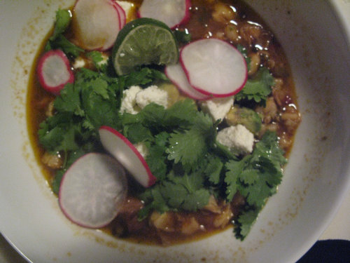Recipe: Posole with New Mexican Chilies