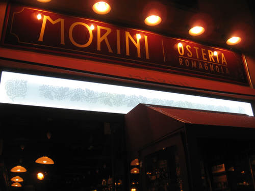 A Mediocre Pasta Dinner at Osteria Morini in SoHo