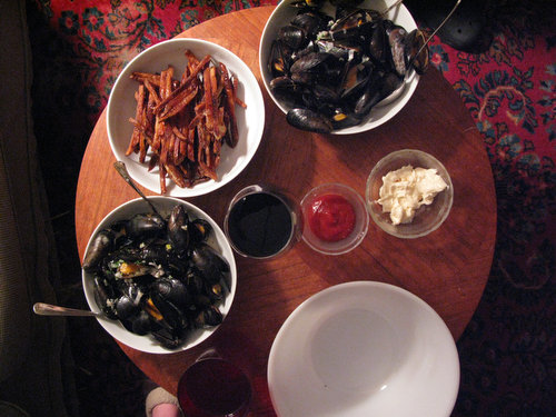 Recipe: Mussels with Tarragon Cream Sauce
