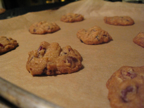 Recipe: Cranberry-Oatmeal-Chocolate Chip Cookies