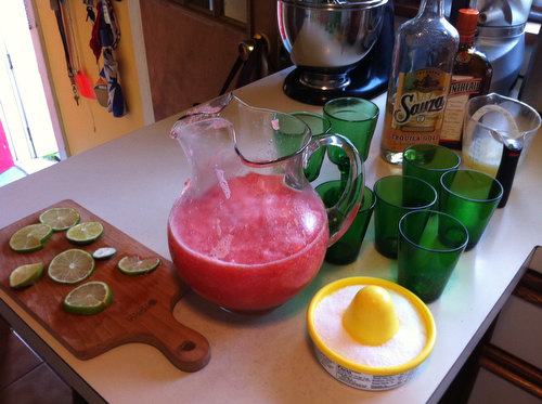 Cocktail Recipe: Watermelon Margaritas