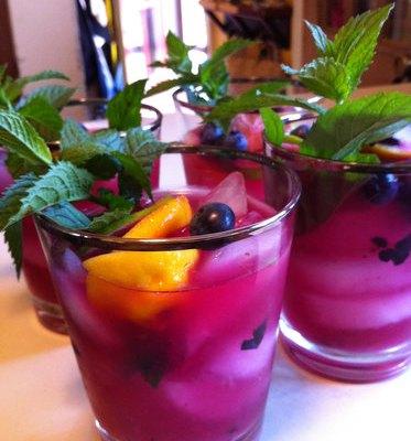 Cocktail Recipe: Blueberry Smash