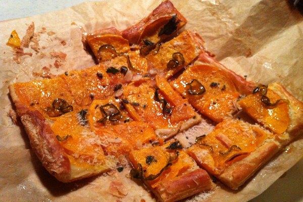 Recipe: Butternut Squash Tart with Fried Sage