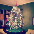 Tabletop Christmas Tree #instagram