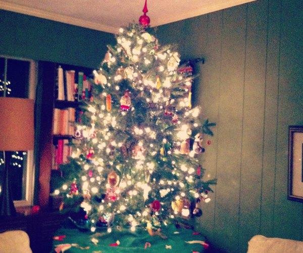 Tabletop Christmas Tree 2012