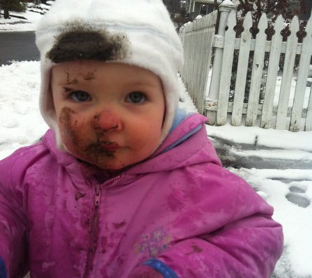 Sam in Snow