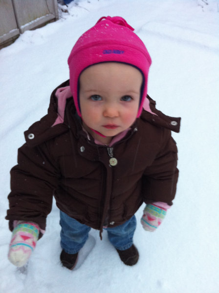 Samantha's First Snow