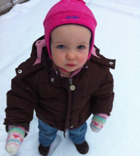Samantha's First Snow