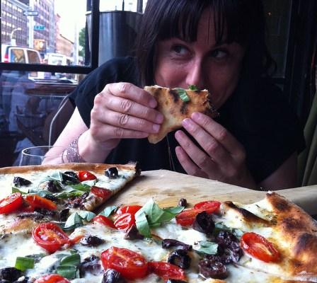 To Gemma, For Boo's Burrata Pizza