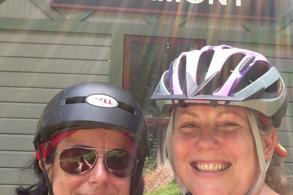 Annual Selfie: On the Rail Trail to Piermont