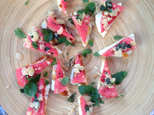 Michael Symon's Watermelon and Halloumi