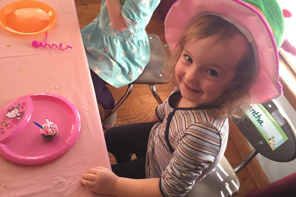 Happy Birthday Samantha! Cupcakes at Daycare