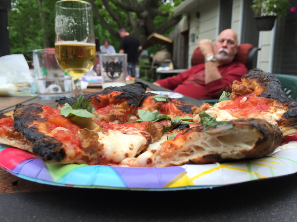 Wood-Fired Pizza in the Back Yard
