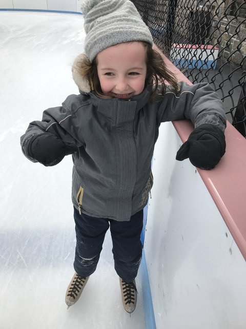 Sam Goes Ice Skating