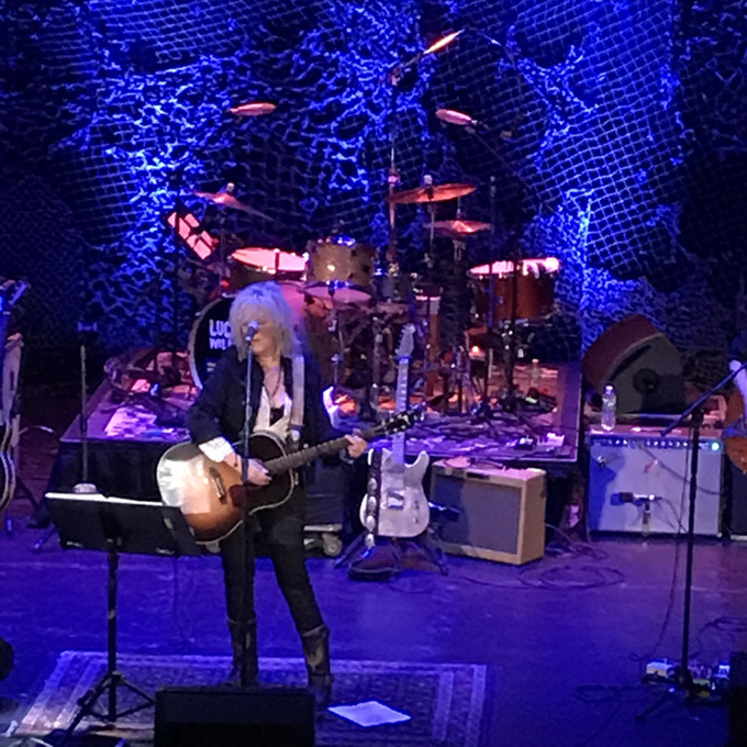 Lucinda Williams at the Tarrytown Music Hall