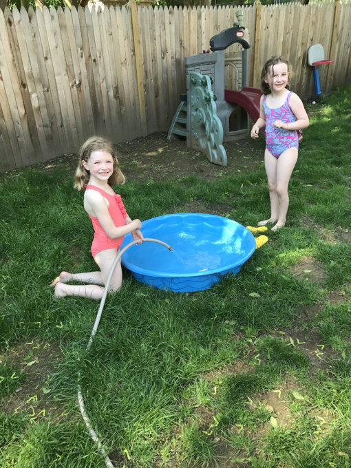 A Hot Day — and No School
