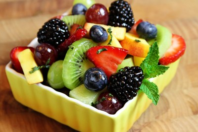 Fresh Fruit Salad with Lime-Honey Dressing - Southern Bite