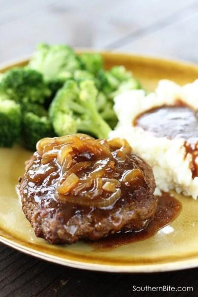 Hamburger Steaks - Southern Bite