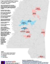 MS Legislative Maps Southern Echo - Ms district 1 us congressional map
