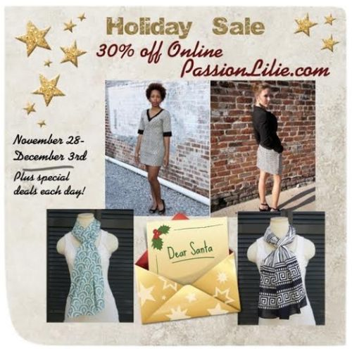 Passion Lilie Sale Ad