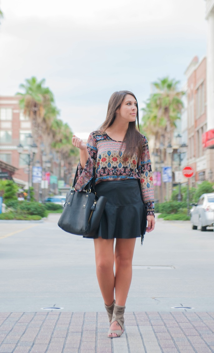 Leather Skirt | Southern Flair