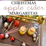 Christmas Apple Cider Margaritas